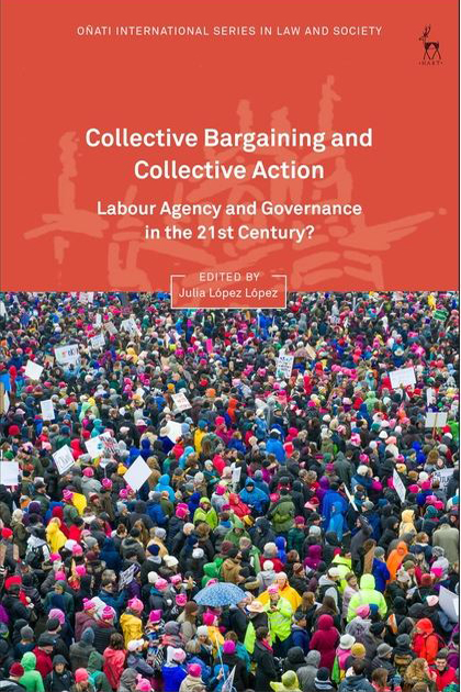 "Cover of the book ""Collective Bargaining and Collective Action""."