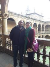 André Ferreira de Oliveira y Cristina Rego di Oliveira