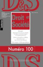 Droit et Société, nº 100