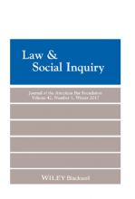 Law & Social Inquiry 42(1)