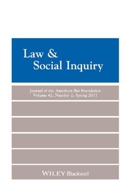 Law & Social Inquiry 42(2)