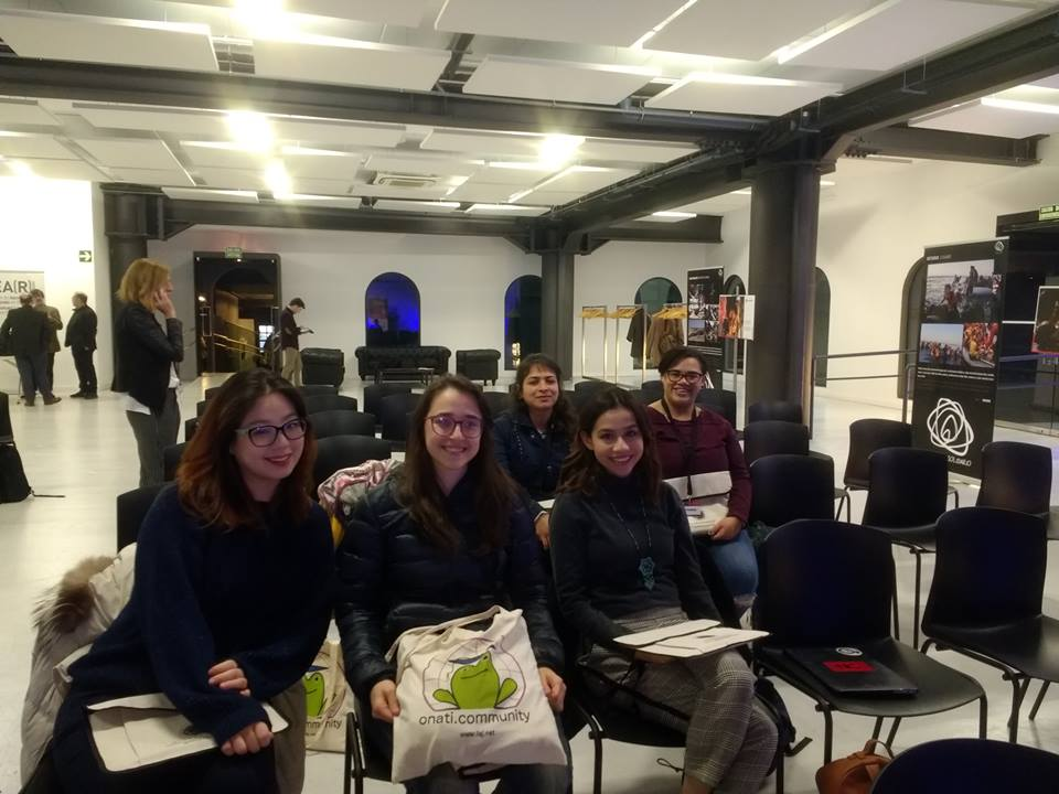 students at the IV European  Encounters in Bilbao.