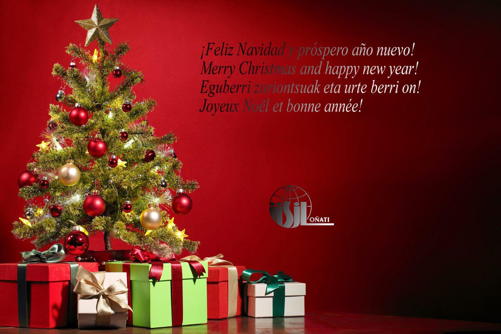 Merry Christmas! IISL-IISJ, Oñati