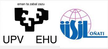Logotipos de la UPV y del IISJ.