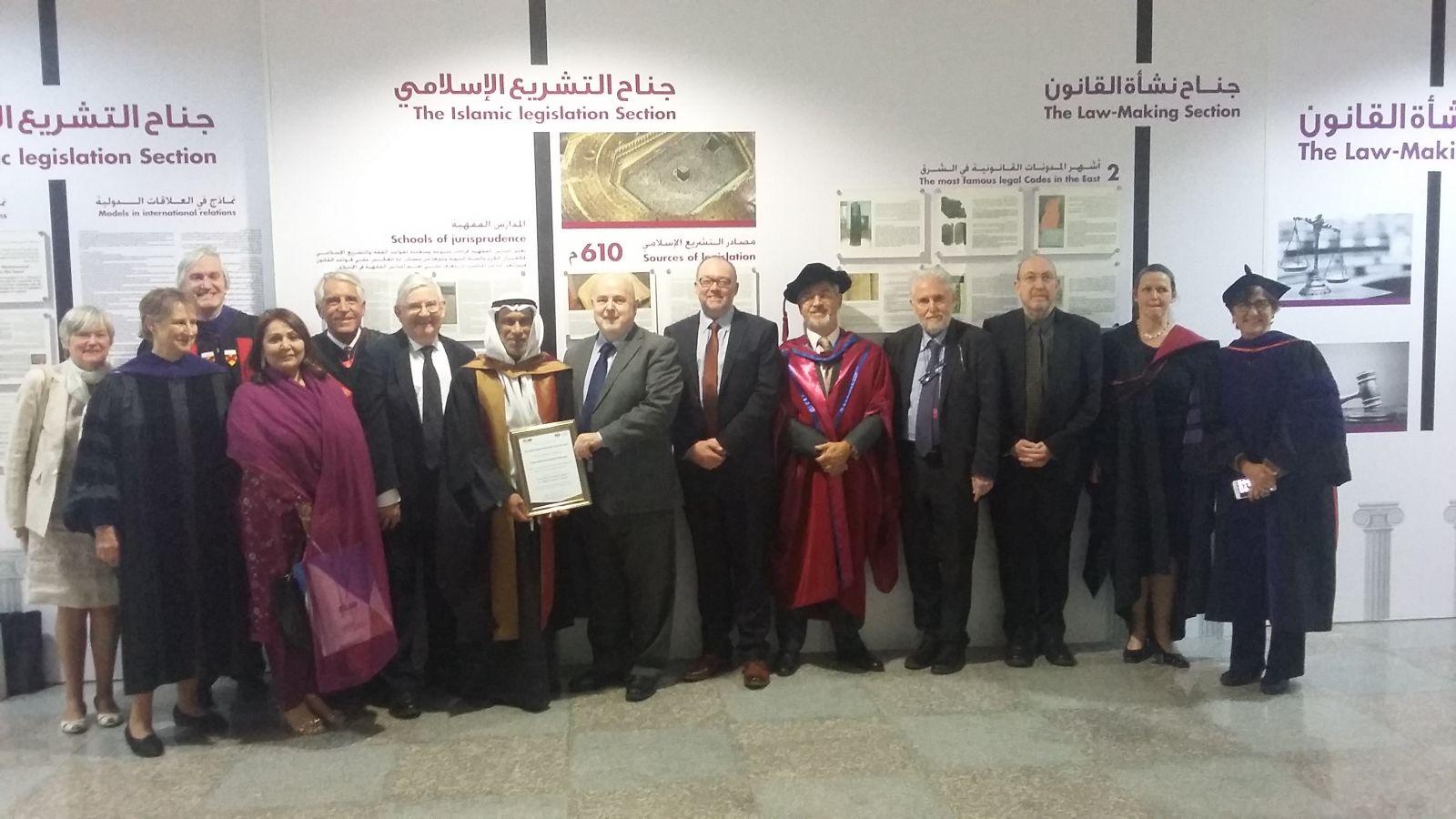 Prof. Vincenzo Ferrari, in Kuwait