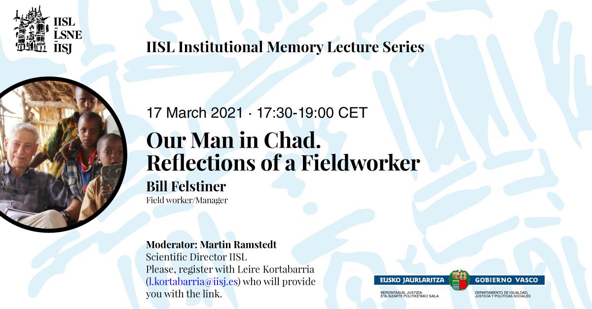 Poster of Bill Felstiner's talk.