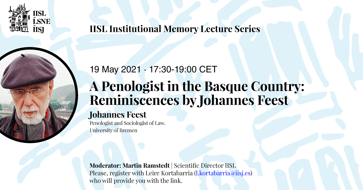 Poster of Johannes Feest's talk.