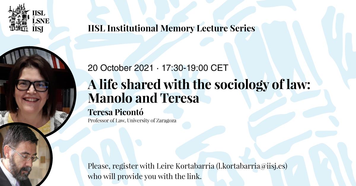 The poster of Teresa Piconto's talk.