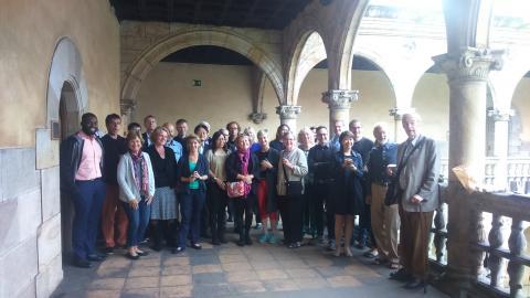 Participantes en la bilkura Lawyers in 21st Century Society.