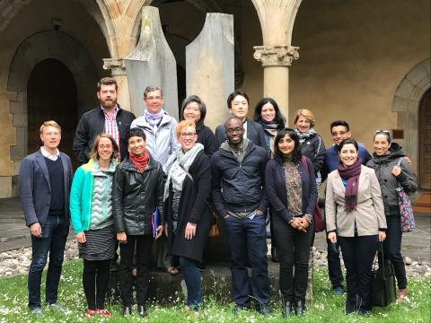 """The participants in the workshop on """"Governing the Political: Law and the Politics of Resistance"""""""
