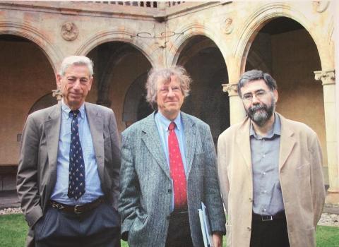 Bill Felstiner, Volkmar Gessner, Manuel Calvo.