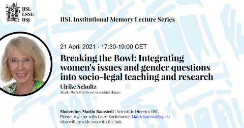 Poster of Ulrike Schultz's talk.