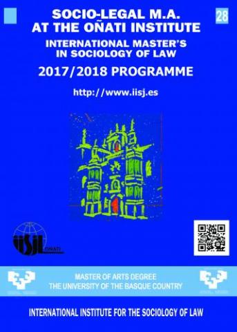 28th International Master's in the Sociology of Law