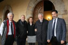 Pierre Guibentif, Joaquín Nieto, Margarita Ramos, Vincenzo Ferrari y Noé Cornago
